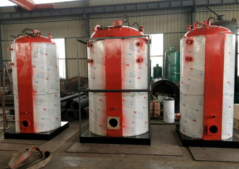 供应泰安金锅LHS立式燃气蒸汽锅炉 热效率高 占地面积小