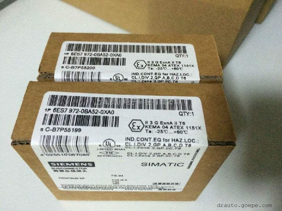 西门子SIMATIC DP,连接插头6ES7972-0BB52-0XA0