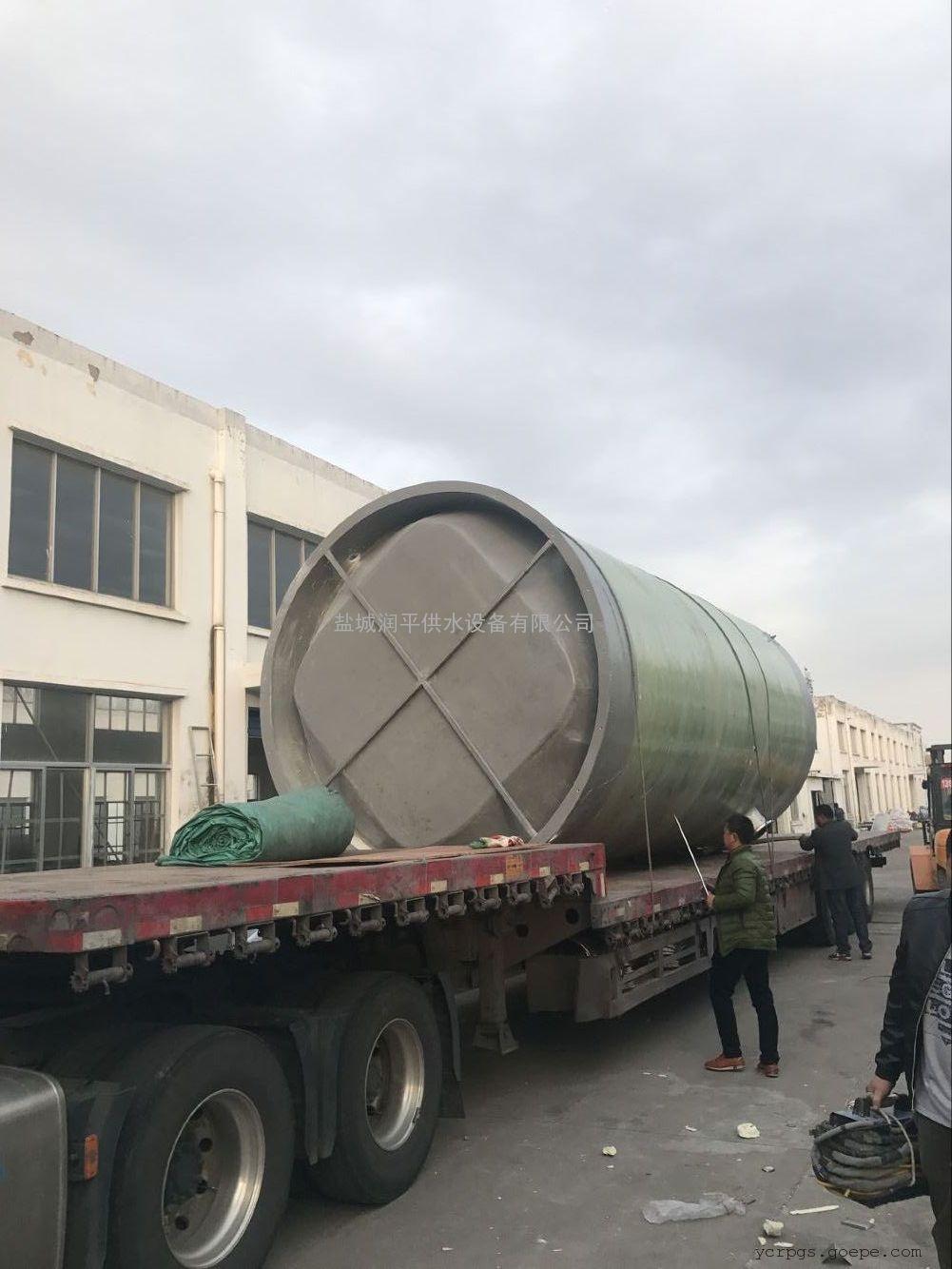 预制泵站 一体化预制泵站 污水提升泵站 玻璃钢泵站 树脂混凝土