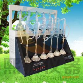 智能一体化蒸馏装置 YZLY-6一体化万用蒸馏仪生产