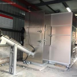 污泥脱水干化一体机 污泥低温干化处理设备 污泥低温余热干化机