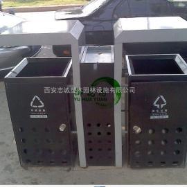 西宁分类垃圾桶 格尔木环保果皮箱 德令哈环卫垃圾箱生产厂家