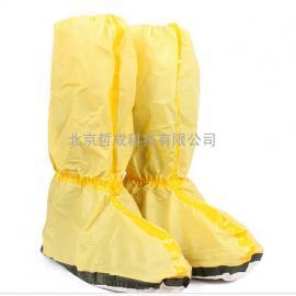 防疫鞋套、防化脚套、防静电医院用胶条型防护靴套