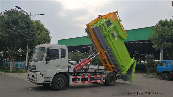 16吨东风天锦勾臂车