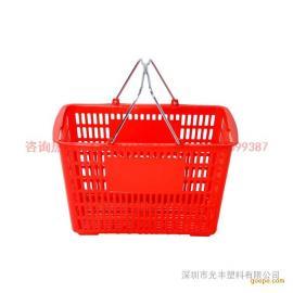 厂家直销各种规格的超市篮|购物篮|塑料篮超市必备,轻松购物