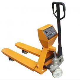 高精度3吨拖车电子秤 3吨带打印液压叉车秤