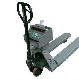 2.5吨液压叉车电子称 汉衡2.5t带打印叉车地牛秤