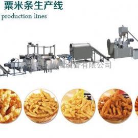 济南美腾机械MTKC-IF/IIF系列油炸型奇多粟米条咪咪条生产线