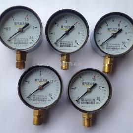 Y60氮气压力表
