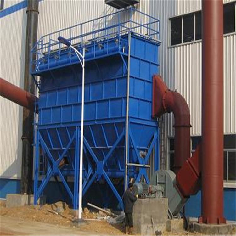 泰安金锅脉冲布袋除尘器 定制MC-1吨锅炉布袋除尘器