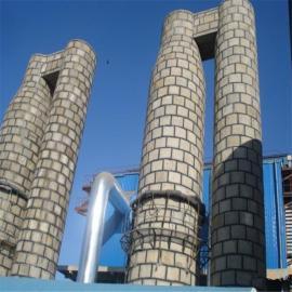 定制锅炉辅机脱硫塔麻石水膜脱硫除尘器钢制水膜脱硫除尘