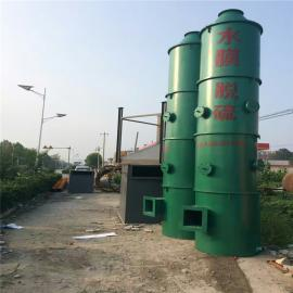 工业除尘器水膜脱硫除尘器钢制水膜喷淋塔定制生产