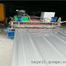新型导柱剪切 浩鑫840900型双层压瓦机