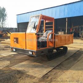 山林地履带运输车 泥泞到路履带式运输车 小型履带翻斗车厂家