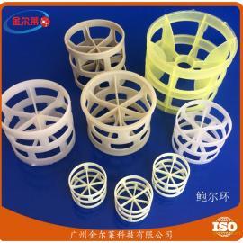 聚丙烯鲍尔环填料 PP鲍尔环 脱硫塔填料 塑料散堆