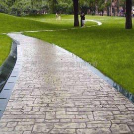 印花混凝土面层需要那些材料-河北万树