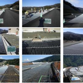 桥梁、天沟、铁路融雪化冰系统可采用发热电缆
