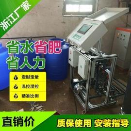 浙江智能施肥机厂家 节水省肥温室草莓水肥一体化滴灌设备安装图