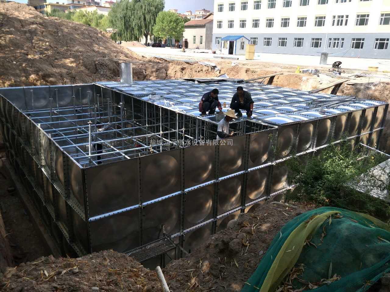 BDF地埋水箱 地埋式箱泵一体化 抗浮地埋水箱