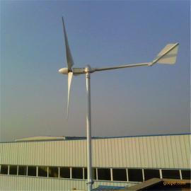 晟成铝合金1000W景观岛屿永磁美化离网专用并网小型风力发电机