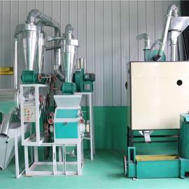 家用小型面粉机械-全自动小麦面粉加工机设备