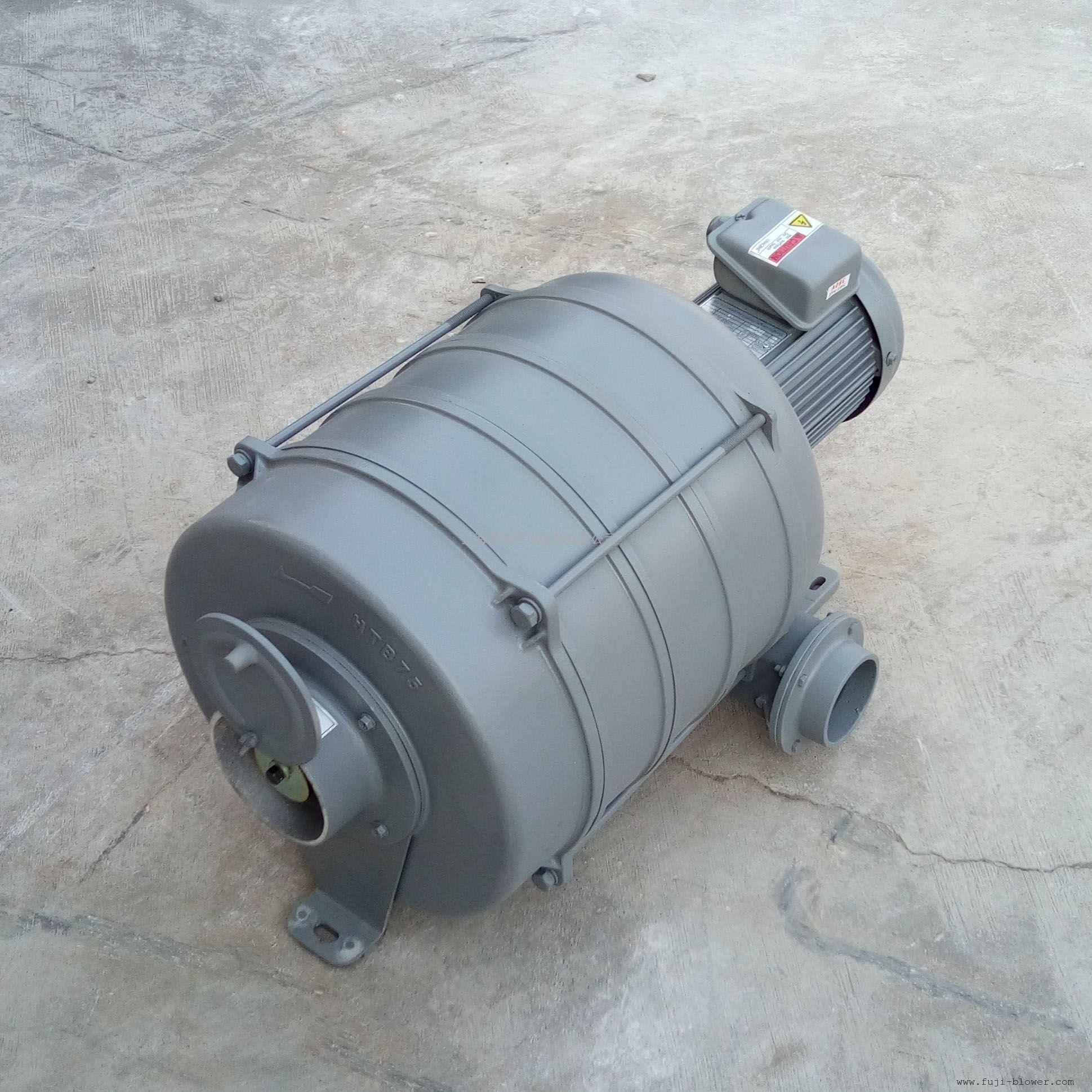 工业HTB75-105多段透浦式1HP鼓风机