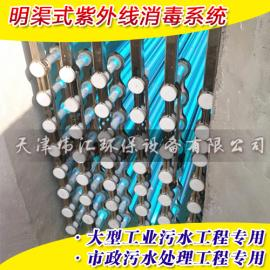 uv灯管 工业废水处理专用uv灯320W 全潜式一体化消毒排架