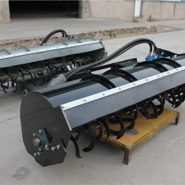 滑移旋耕机 HCN屈恩机具液压马达驱动旋耕机