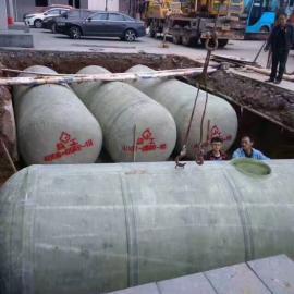 佛山玻璃钢化粪池厂家直销 抗压耐酸碱家用玻璃钢化粪池