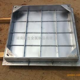 加工定制201|304不锈钢隐形装饰井盖雨水篦子污水下沉式沙井盖板