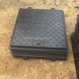 重型铸铁方形井盖长沙井盖厂300×500B125水表箱盖板