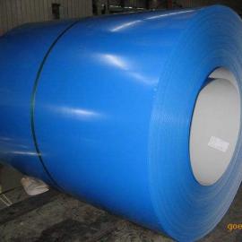 上海建筑工程用彩钢板海蓝彩涂板厚度齐全