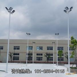 南充市篮球场灯杆位置图 户外体育场照明灯柱 整套灯杆预算价钱