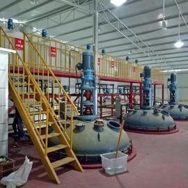 10T全自动减水剂母液生产设备 聚羧酸合成全套设备 厂家直销