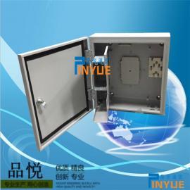 32芯光缆分光箱又称32芯光纤分纤箱室外防水安装介绍