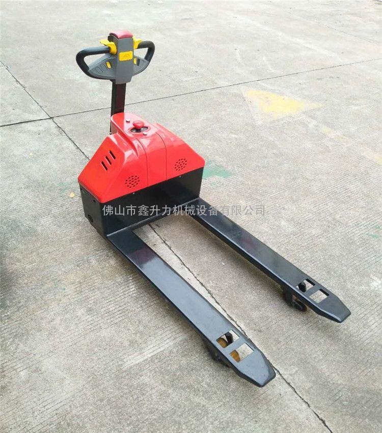 汕头回收站步行式电动手拉车-全电动托盘装卸车