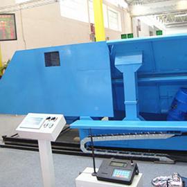 专业制造槽式给料机,电炉加料机,槽式电炉加料车