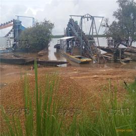 柬埔寨淘金船选金设备,吸金抽沙选矿机器
