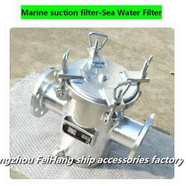 船用粗水滤器,吸入粗水滤器A80 CB/T497-94