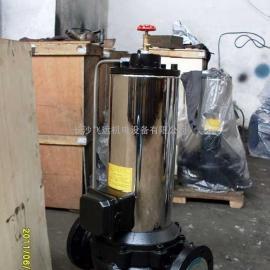长沙PBG立式无噪音空调循环屏蔽泵