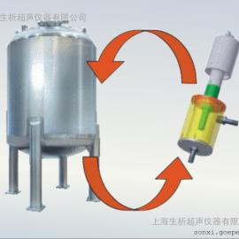FB-1200反应釜连接超声波装置