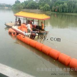 河北水�旌拥�r污警示��分�^域塑料浮筒 直��300*800�r污浮筒