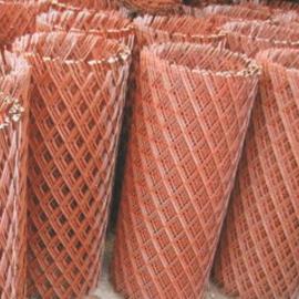 南昌坡面支护钢板网&喷红漆菱形钢板网一卷价格