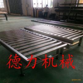 专业生产定做无动力输送线 滚筒输送线耐高温输送机