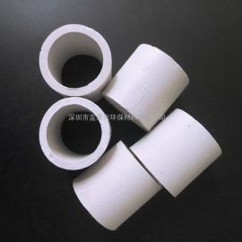 3mm催化剂载体洗涤塔冷却塔再生塔干燥填料耐高温陶瓷拉西环