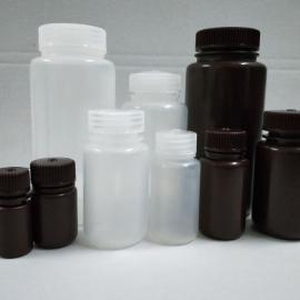 聚丙烯125ml本白无酶无致热源防漏广口塑料试剂瓶
