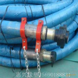 大口径高压水龙带1502型由壬连接水龙带钢丝缠绕钻探胶管