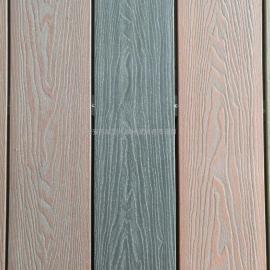 竹木地板 PE共挤塑木地板 ASA在线压花共挤木塑地板-西安志诚