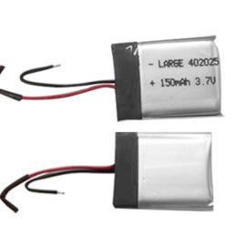 移动支付终端聚合物电池402025 3.7V 150mAh