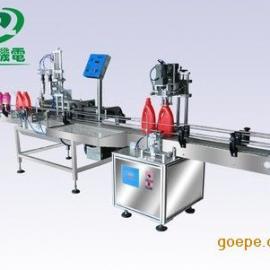 小型润滑油灌装机 食用油灌装机 牛奶灌装机 灌装旋盖生产线